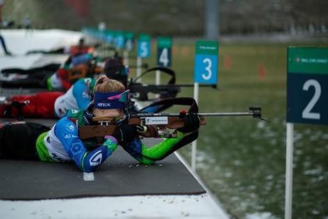 Представители Могилевщины выиграли «золото» и «серебро» на первенстве Беларуси по биатлону