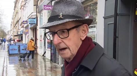 Интервью на улице со стариком стало вирусным, когда мужчина назвал свой возраст