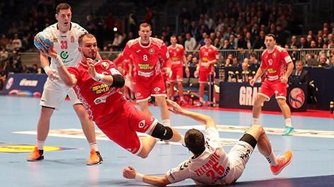 Белорусские гандболисты победили сербов на старте чемпионата Европы
