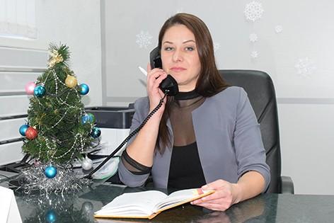 Интервью с начальником Центра банковских услуг № 608 вг.Быхове Светланой Леонтьевой