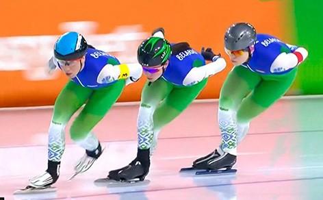 Белоруски завоевали бронзу на чемпионате Европы по конькобежному спорту