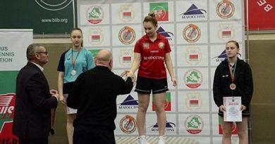 Могилевчанка завоевала «серебро» на первенстве Беларуси по настольному теннису