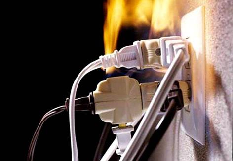 В 2019 году на территории Быховского района по причине нарушения правил эксплуатации электрооборудования произошло 6 пожаров