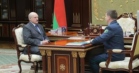 Сенько доложил Лукашенко о результатах работы таможни за прошлый год