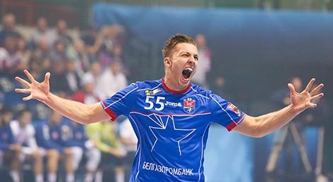 Никита Вайлупов занимает 2-е место среди бомбардиров гандбольного ЧЕ