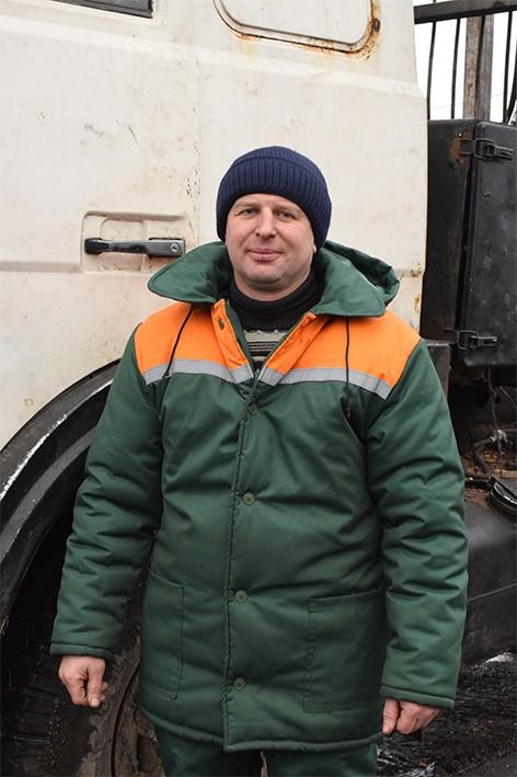 За 6 лет работы водитель лесовозной машины Александр Воронцов стал передовиком в своей отрасли
