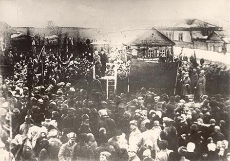 Как на Быховщине отмечали 23 февраля 100 лет назад