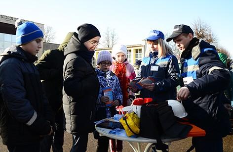 На Быховщине прошло межведомственное мероприятие в рамках Единого дня безопасности