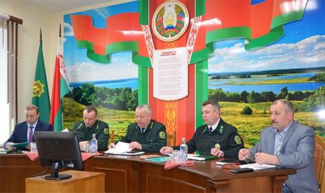 В ГЛХУ «Быховский лесхоз» прошло расширенное итоговое производственное совещание