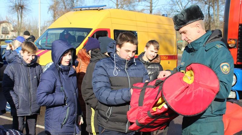 Спасатели Быховщины приняли участие в Едином дне безопасности