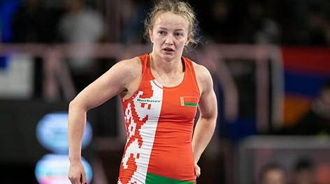 Белоруска Ксения Станкевич стала третьей на ЧЕ по борьбе в Риме