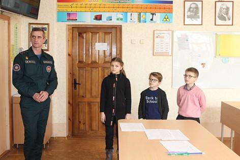 На Быховщине прошел районный этап конкурса по знанию основ безопасности жизнедеятельности «Школа безопасности – 2020»