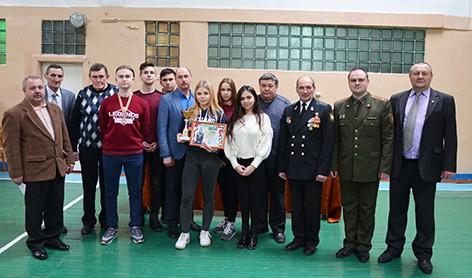 В СШ №2 г. Быхова ребята соревновались по стрельбе из пневматической винтовки