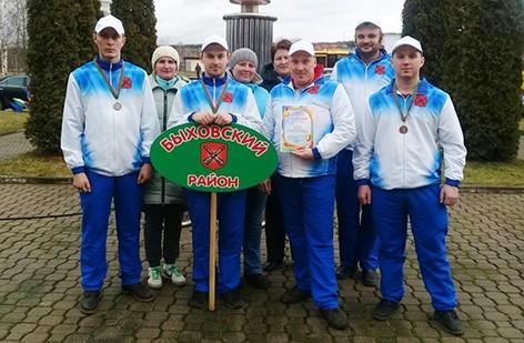 Быховские аграрии приняли участие в XV областной зимней спартакиаде