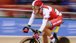 Белорус Евгений Королек выиграл золото ЧМ по велоспорту на треке