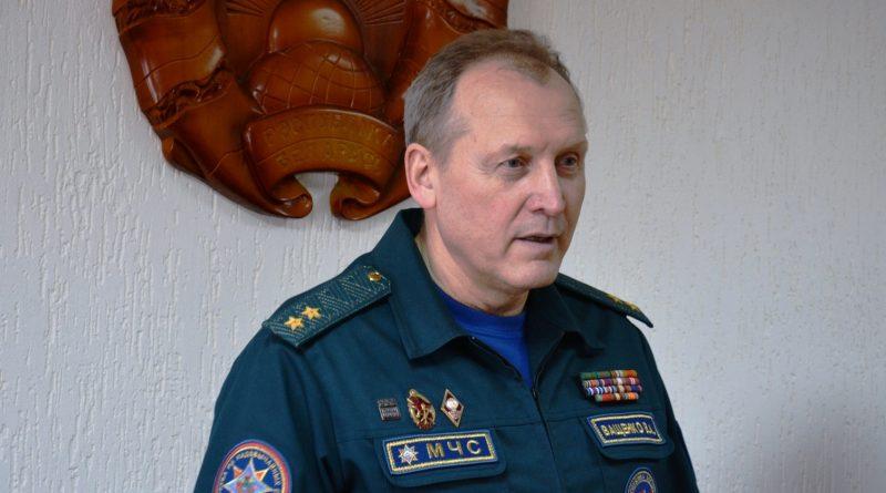 Быховский спасатель награжден медалью  «За безупречную службу» III степени
