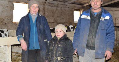 Молочно-товарный комплекс «Новый Свет» ОАО «Обидовичи» ежедневно реализует государству 2 тонны 690 кг молока