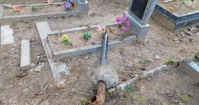 На кладбище в Быхове украдены ограды