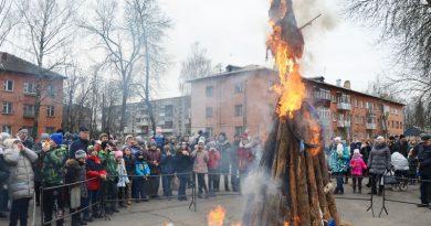 В Быхове состоялся праздник «Широкая Масленица пришла!» (фотоотчет)