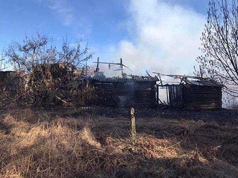 На Быховщине произошло 3 пожара в частном жилом секторе