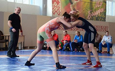 В Быхове прошли Олимпийские дни молодежи области по вольной борьбе среди девушек