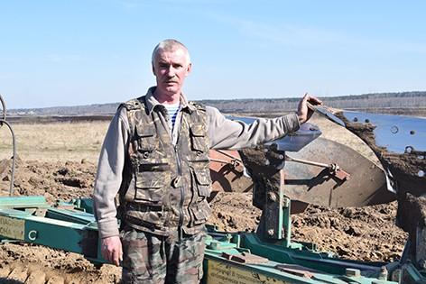 В ОАО «Воронино» весновспашка произведена на площади свыше 200 гектаров