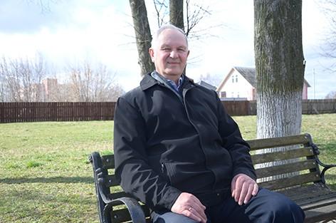 Сегодня жителю агрогородка Мокрое Николаю Бонадысеву исполняется 70 лет
