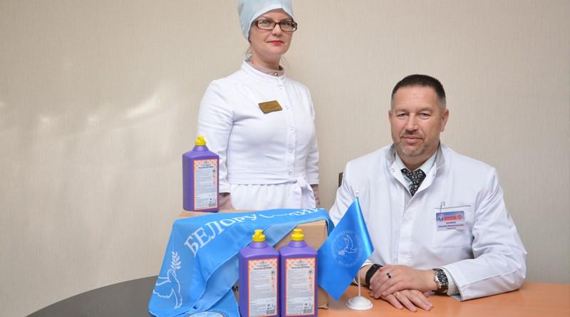 Районная организация ОО «Белорусский фонд мира» оказала содействие медицинским работникам Быховщины