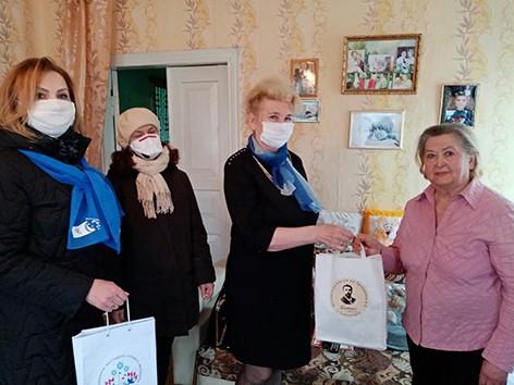 Члены районной организации ОО «Белорусский союз женщин»оказывают поддержку с упором на усиление мер безопасности (фото)
