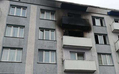На Быховщине произошел пожар