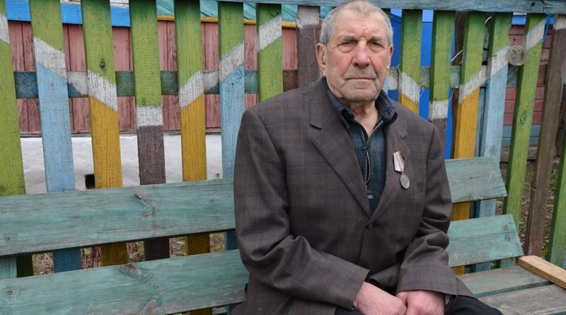 Александр Шаранков - старейший житель агрогородка Черный Бор