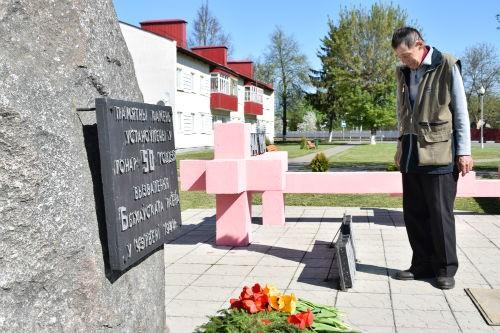 Торжественное возложение цветов и гирлянд состоялось на площади Красовского