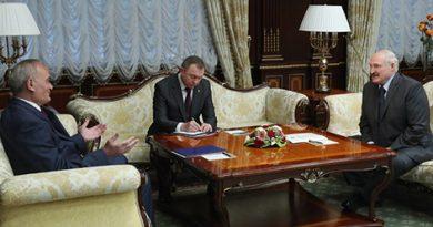 Лукашенко высоко оценил вклад посла Сербии в развитие двустороннего сотрудничества с Беларусью