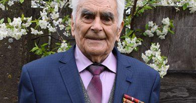 94-летний участник Великой Отечественной войны Григорий Столярчук по-прежнему крепок духом