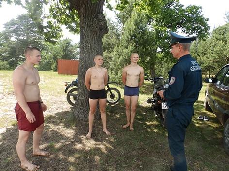 В Быховском районе проходит акция «Летний патруль»