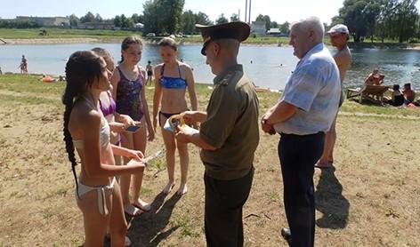 На Быховщине проходит акция Летний патруль»