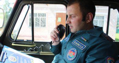 Спасатели Быховщины проводят профилактическую работу с жителями отдаленных сельских населенных пунктов