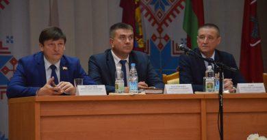 Председатель Могилевского областного исполнительного комитета Леонид Заяц  посетил Быховский район
