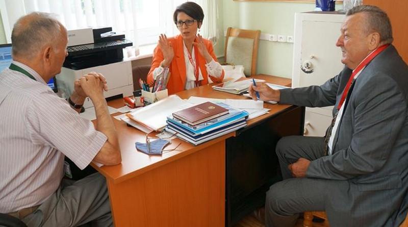 Наблюдатели от миссии СНГ мониторят готовность участков для голосования Могилевской области
