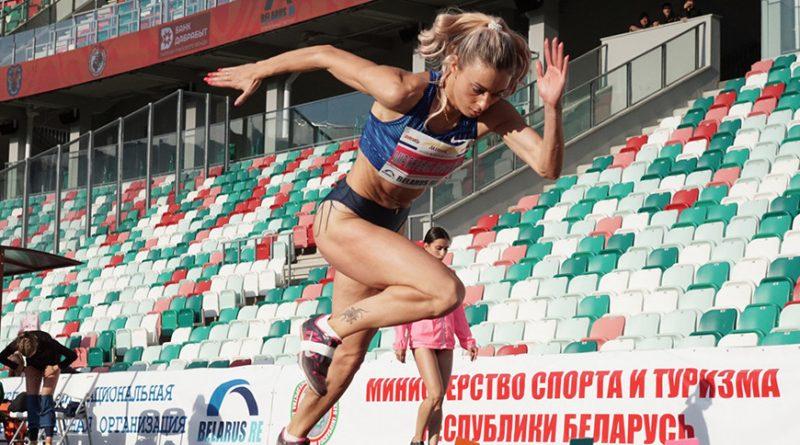 Белорусская легкоатлетка Анастасия Мирончик-Иванова выиграла золото Мемориала Иштвана Дьюлаи