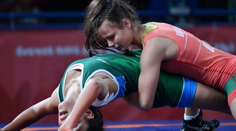 Наталья Варакина стала чемпионкой на первенстве Беларуси по вольной борьбе