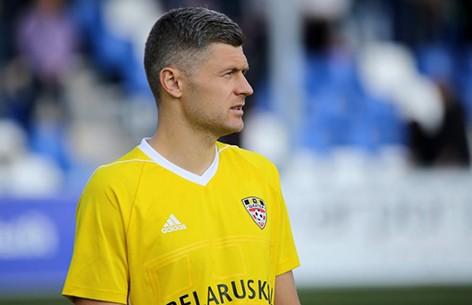 Назван лучший игрок 20-го тура чемпионата Беларуси по футболу
