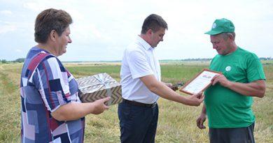 В ОАО «Обидовичи» определились передовики на сборе большого урожая