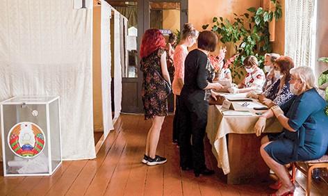 Голосование на  Ямницком участке для голосования № 37 проходит активно и в штатном режиме