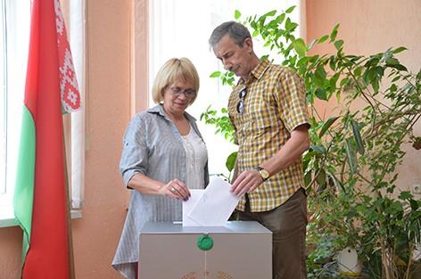 На Быховщине начали свою работу участки для голосования по выборам Президента Республики Беларусь