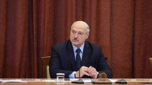 Александр Лукашенко во время посещения Национальной академии наук встретился с белорусскими учеными