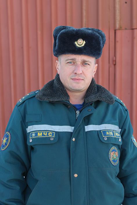 Начальник караула №3 Валерий Лысов