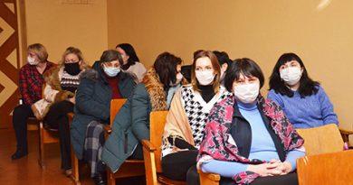 Участниками очередной диалоговой площадки стала педагогическая общественность Быховского района