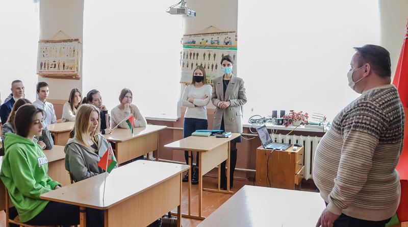 В СШ №1 состоялась встреча со старшеклассниками в формате открытого диалога