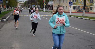 В Быхове состоялся легкоатлетический забег